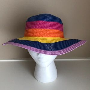 Fun sun hat rainbow